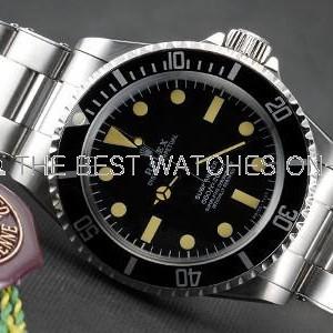 Rolex Submariner SS Case Black Dial No Date SWRX925