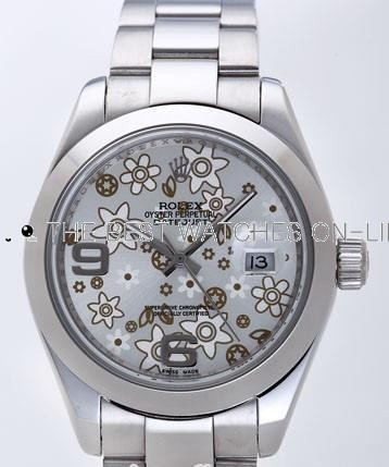 Rolex Datejust II Replica Watches Silver Dial RX4120
