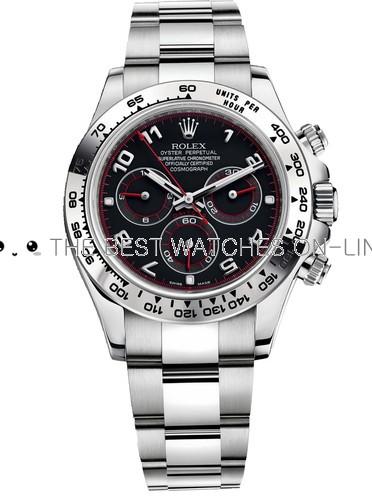 Replica Rolex Daytona Automatic Watch Black Dial 40mm