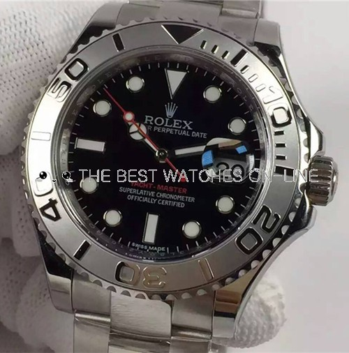Rolex Yacht-Master Swiss Automatic Watch Black Dial (High End)
