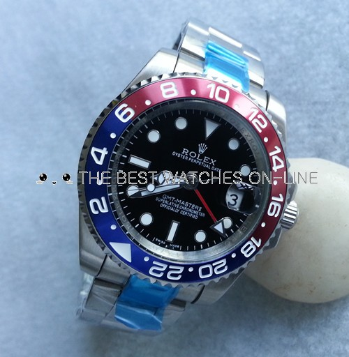 Rolex GMT-Master II 116719BLRO-78209 Red and Blue Bezel Automatic Replica Watch