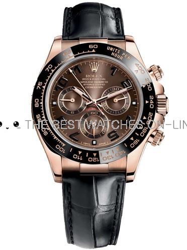Replica Rolex Daytona Automatic Watch 116515ln-0015 Brown Dial 40mm