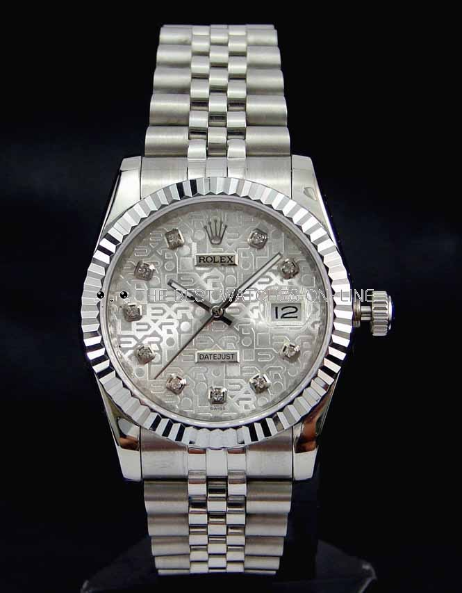 Swiss Rolex Datejust 178274 Silver Dial Ladies Automatic Replica Watch