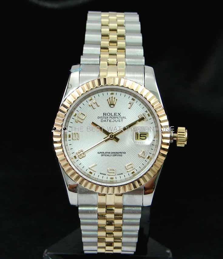 Swiss Rolex Datejust 116333 White Dial Men Automatic Replica Watch