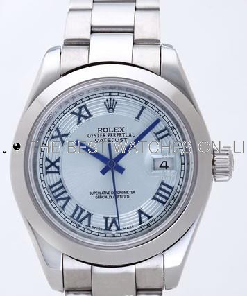 Rolex Datejust II Replica Watches Silver Dial RX4115