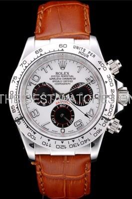 Rolex Cosmograph Daytona 116518 White Dial Men Automatic Replica Watch
