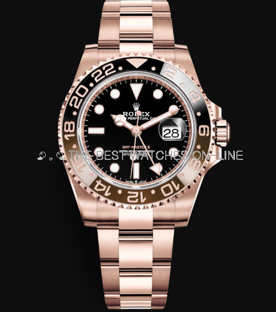 Rolex GMT-Master II Automatic Watch Rose Gold 126711CHNR-0001 40mm