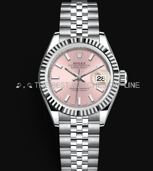 Rolex Datejust 28mm Automatic Watch 279174-0001 Pink Dial