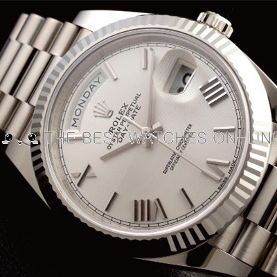 Rolex Day-Date II 228239 Swiss Automatic Watch White Dial 41MM