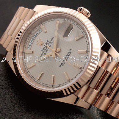 Rolex Day-Date 228235 Swiss Automatic Watch Sundust Dial