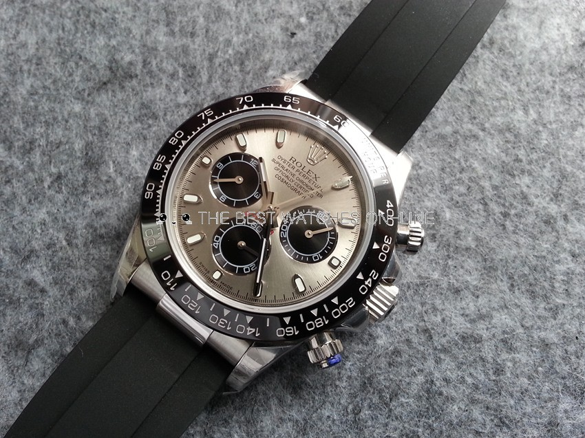 Replica Rolex Daytona Swiss Automatic Watch 116519ln-0024 Gray Dial (High End)