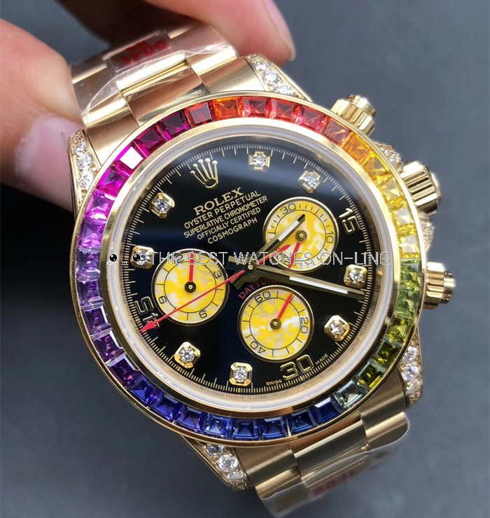 Swiss Rolex Cosmograph Daytona 116598RBOW Men Automatic Replica Watch (High End)