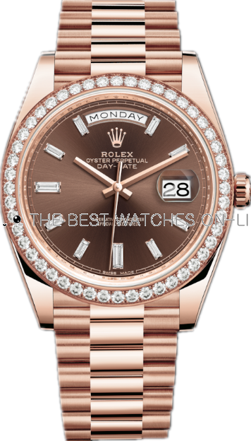 Replica Rolex Day-Date II Swiss Automatic 228345rbr-0006 Chocolate Dial 36mm (High End)