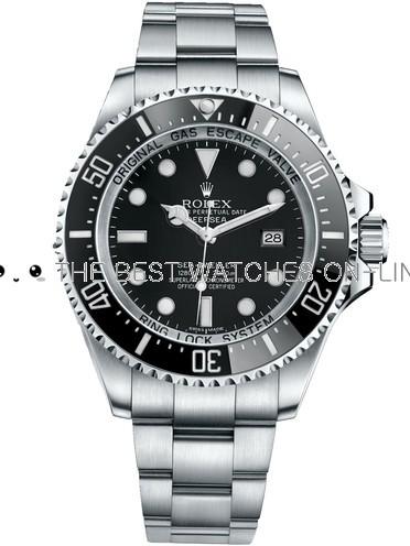 Replica Rolex DeepSea Sea-Dweller Swiss Automatic Black Dial 44mm (High End)