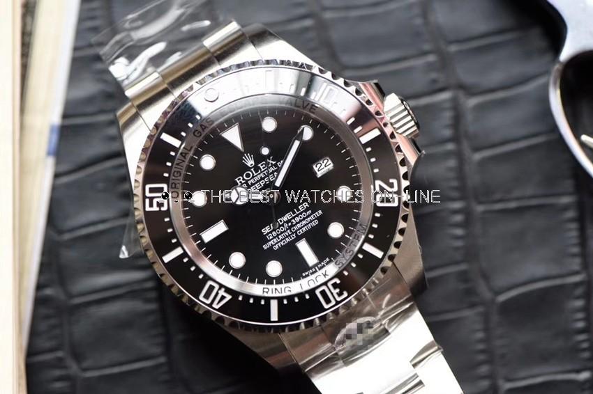 Swiss Rolex Deepsea Sea-Dweller 43mm Automatic Replica Watch (Super Model)
