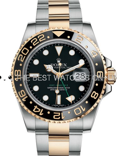 Rolex GMT-Master II Swiss Cal.3186 Replica Watch 116713LN-0001 40mm (Super Model)