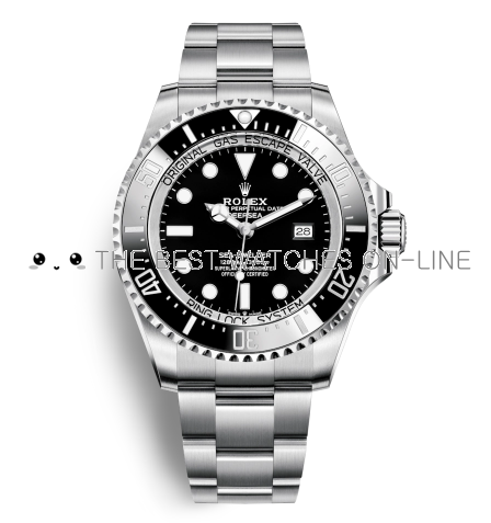 Replica Rolex Deepsea Sea-Dweller Automatic Watch 116660-0001 Black Dial 44mm