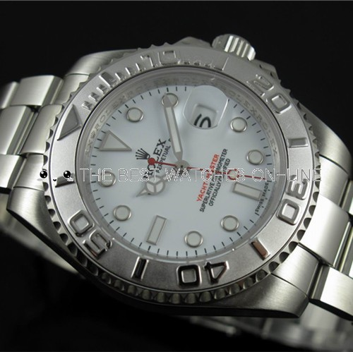 Replica Rolex Yacht-Master Automatic Watch White Dial