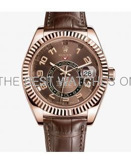 Rolex Sky-Dweller Automatic Swiss Chocolate