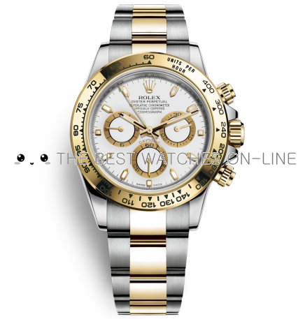 Replica Rolex Daytona Watches Swiss Automatic 116503-0001 White Dial 40mm (High End)