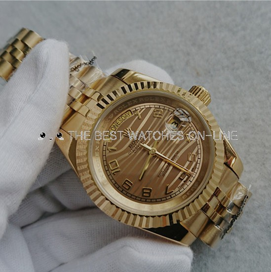 Rolex Day-Date Full Gold Automatic Watch 41mm