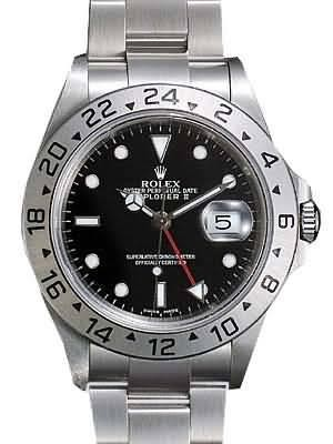 Rolex Explorer Replica Watches SS Stainless Steel Black Dial RX399