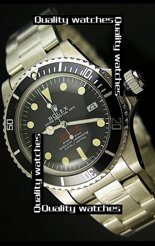 Rolex Sea-Dweller Submariner 2000 Vintage 1665 Edition Automatic Replica Watch