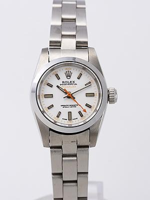 Rolex Milgauss Replica Watches White Dial SS Band RX8451
