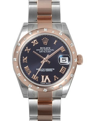 Swiss Rolex Oyster Perpetual 178341-VI-63161 Chocolate dial Men Automatic Replica Watch
