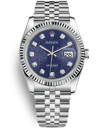 Swiss Rolex Datejust Mens 116234-0110 Blue dial Men Automatic Replica Watch
