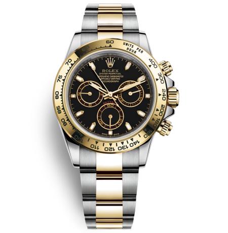 Replica Rolex Daytona Watches Swiss Automatic 116503-0004 Black Dial 40mm (High End)
