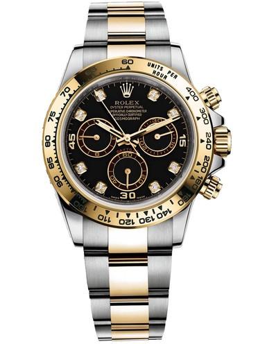 Replica Rolex Daytona Automatic Watch 116523-0043 Black Dial 40mm