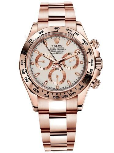 Rolex Cosmograph Daytona 116505 Ivory Dial Men Automatic Replica Watch