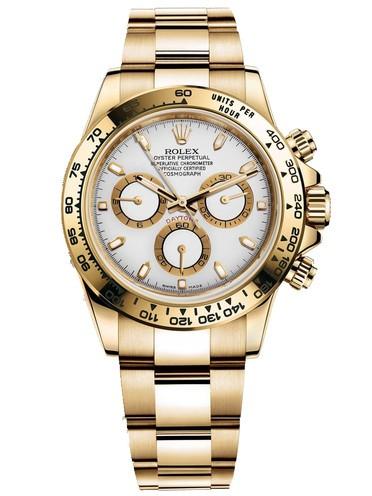 Replica Rolex Daytona Automatic Watch 116508-0001 White Dial 40mm