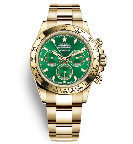 Swiss Rolex Daytona Replica Automatic Watch Green Dial (High End)