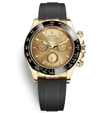 Replica Rolex Daytona Automatic Watch 116518ln-0034 Gold Dial 40mm