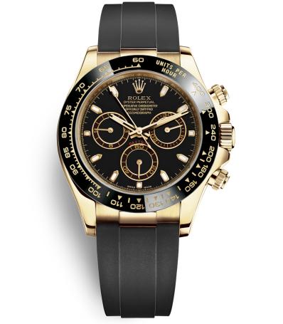 Replica Rolex Daytona Automatic Watch 116518ln-0035 Black Dial 40mm