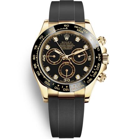 Replica Rolex Daytona Automatic Watch 116518ln-0038 Black Dial 40mm