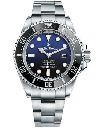 Swiss Rolex Sea Dweller DeepSea D-Blue Dial Replica Watch (High End)