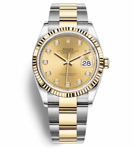 Rolex Datejust Automatic Watch 126233-0018 36mm