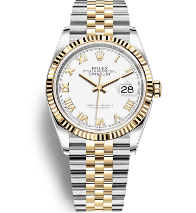 Rolex Datejust 126233-0029 White dial Roman numerals Automatic Replica Watch