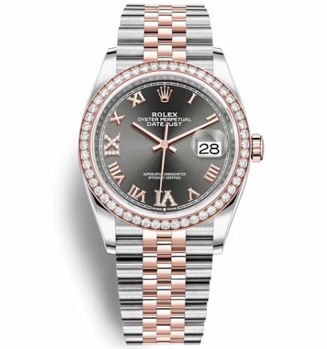 Rolex Datejust Automatic Watch 126281RBR-0011 36mm