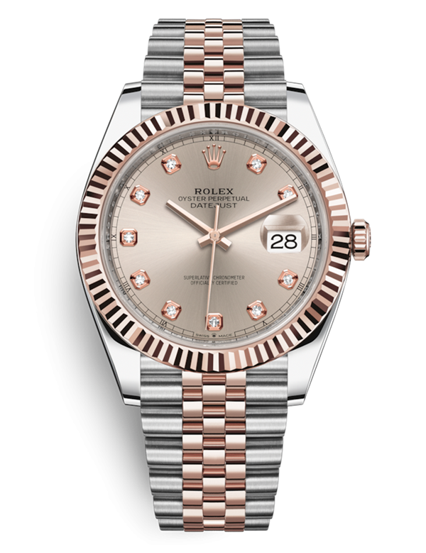 Replica Rolex DATEJUST II Swiss Watches 126331-0008 Sundust Dial 40mm(High End)