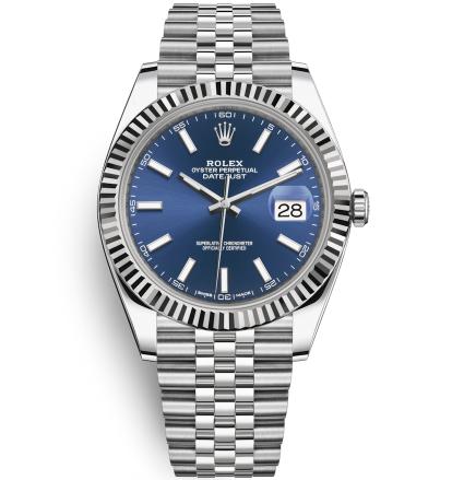 Replica Rolex Datejust II Automatic Watch 126334-0002 Dark Blue Dial 41mm
