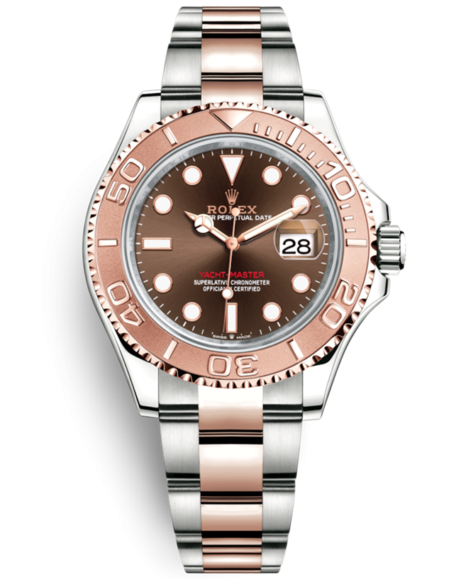 Replica Rolex Yacht-Master Swiss Watches Chocolate Dial (High End)