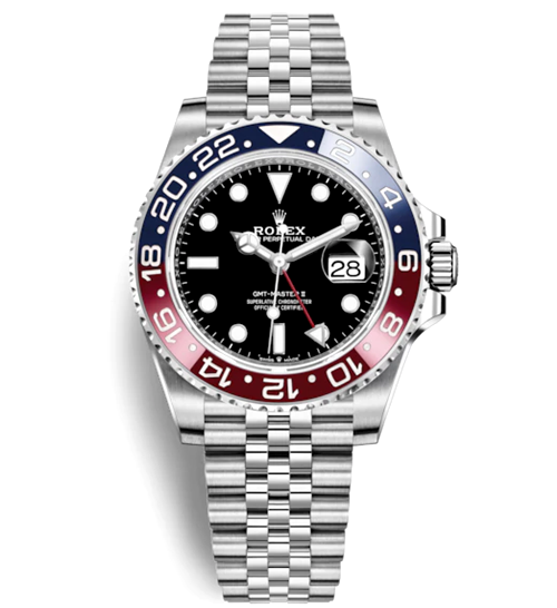 Rolex GMT-Master II Automatic Watch 126710BLRO-0001 40mm