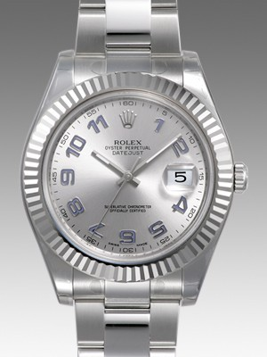 Swiss Rolex Datejust Mens 116334-72210 White dial Men Automatic Replica Watch