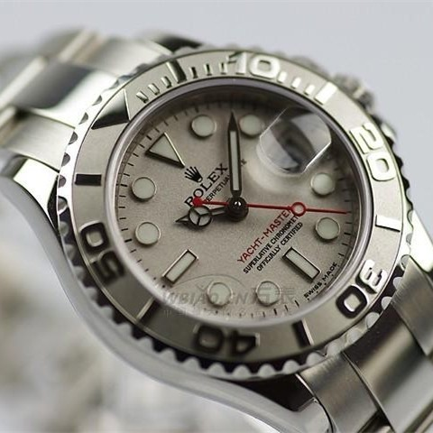 Swiss Rolex Yacht-Master 169623 White dial Ladies Automatic Replica Watch