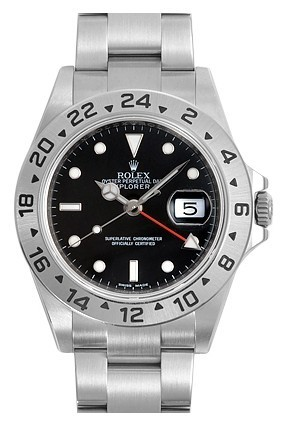 Swiss Rolex Explorer II 16570-78790 Black Dial Men Automatic Replica Watch