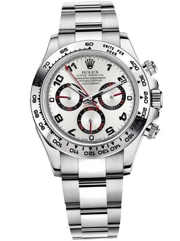 Rolex Daytona Swiss Replica Watch 116509-0037 White Dial 40mm (High End)
